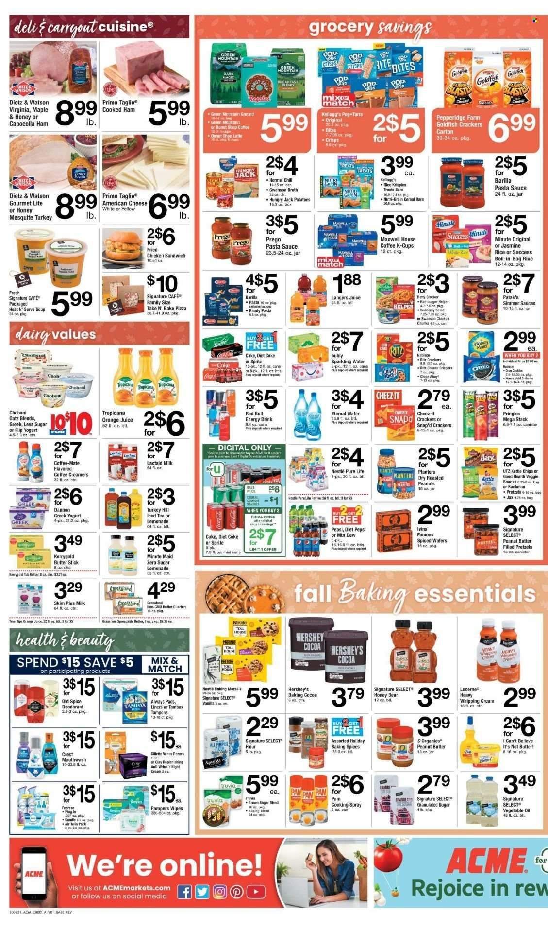 ACME Markets Ad from october 13 to 20 2021 - Page 2