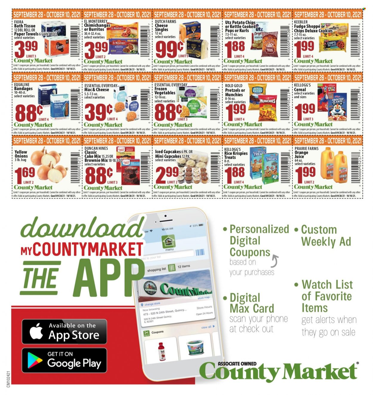 County Market Coupons from september 28 to october 24 2021 - Page 2