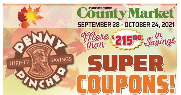 County Market Coupons from september 28 to october 24 2021