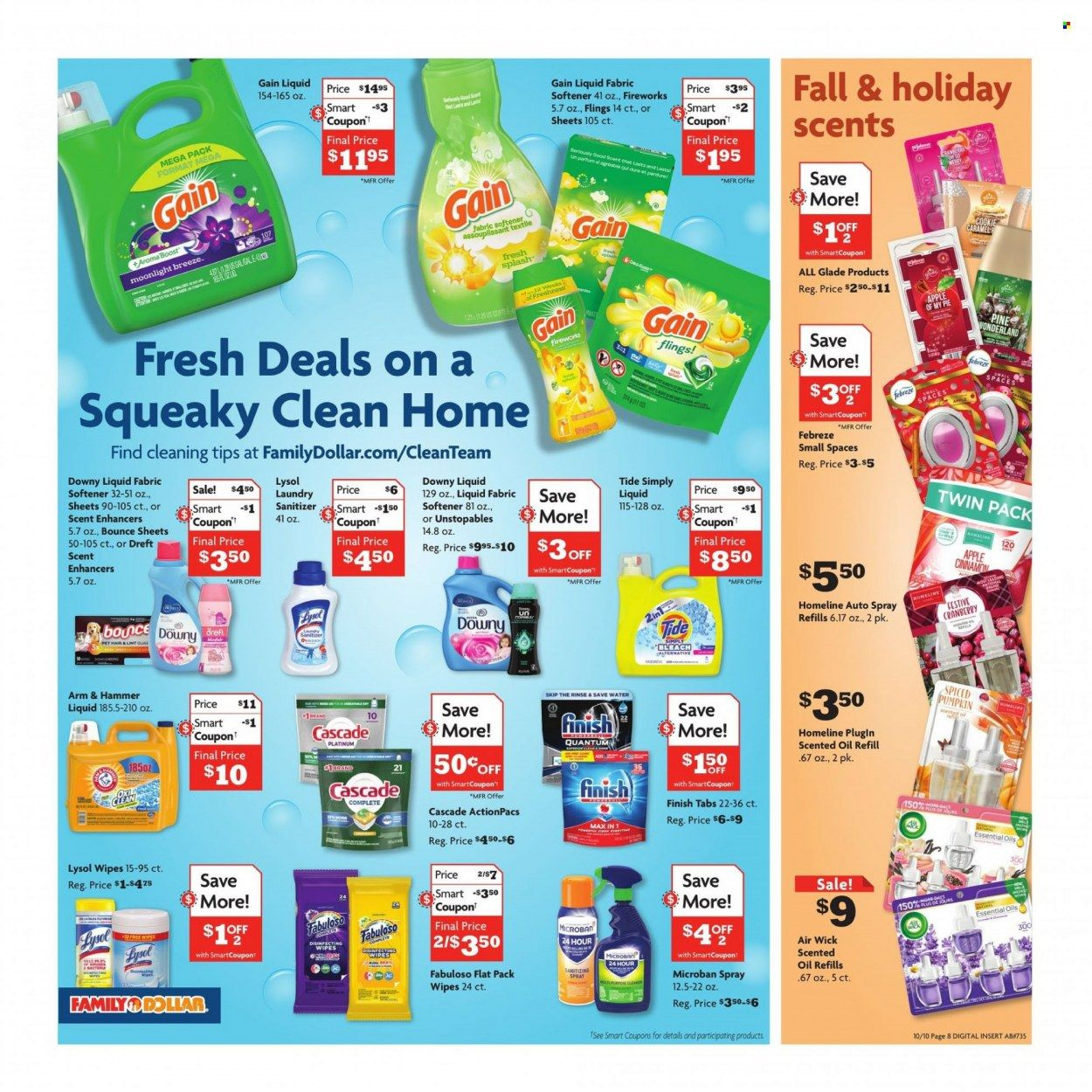 Family Dollar Ad from october 10 to 17 2021 - Page 4