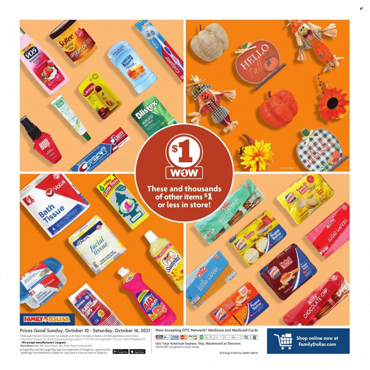 Family Dollar Ad from october 10 to 17 2021 - Page 12