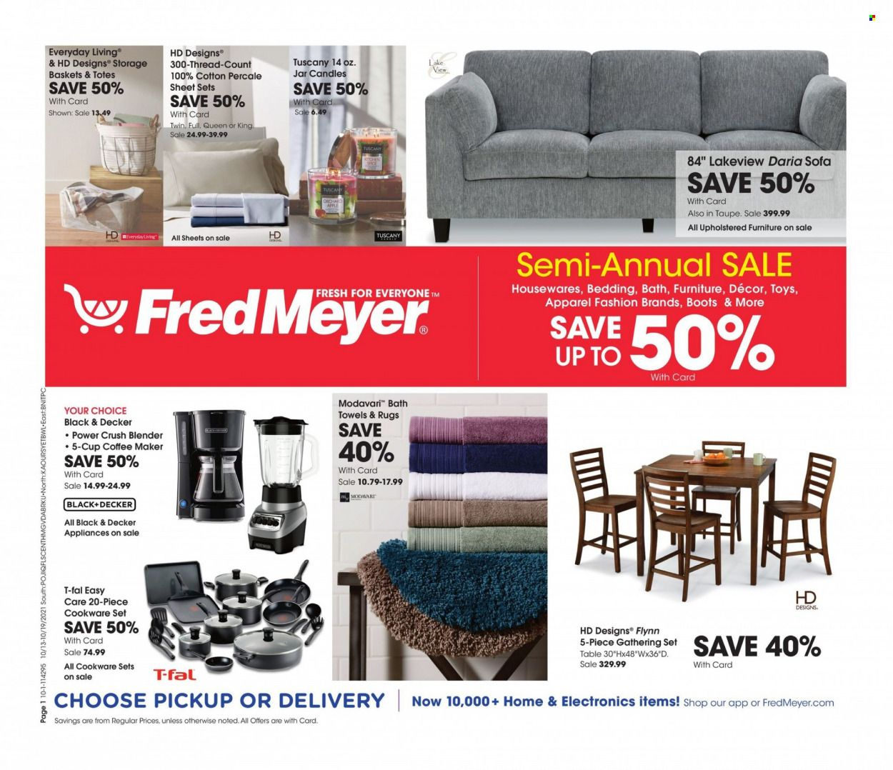Fred Meyer Ad from october 12 to 19 2021 - Page 1