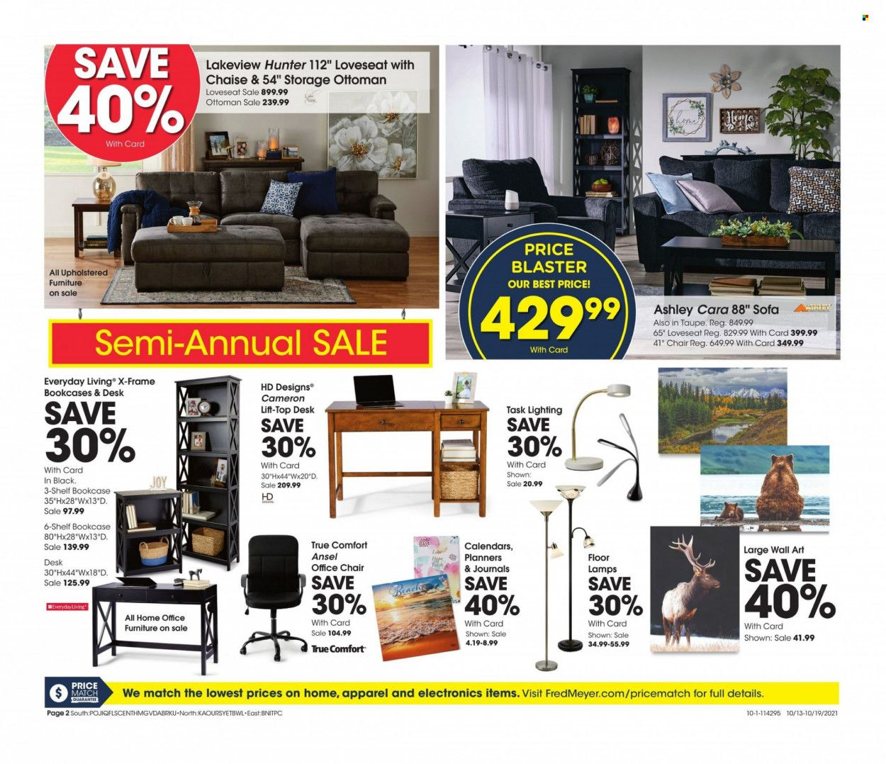 Fred Meyer Ad from october 12 to 19 2021 - Page 2