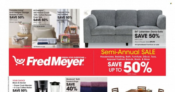 Fred Meyer Ad from october 12 to 19 2021