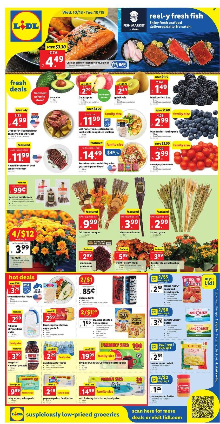 Lidl Ad from october 13 to 19 2021 - Page 1