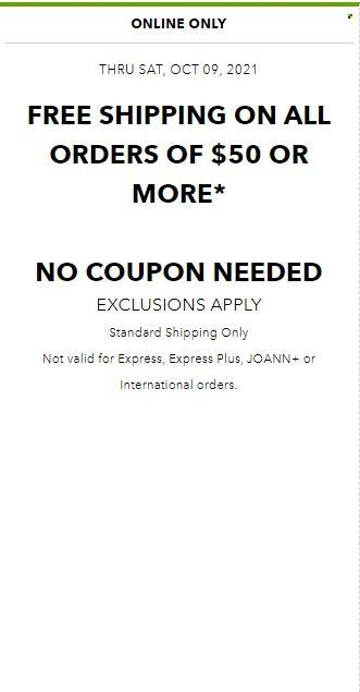 Joann Specials & Coupon from october 13 to 20 2021 - Page 3