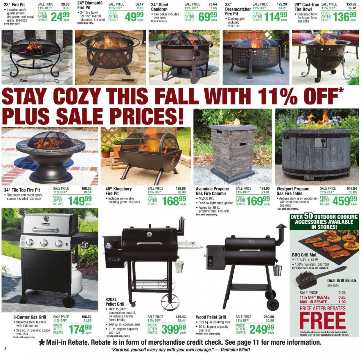 Menards Ad from october 9 to 16 2021 - Page 2