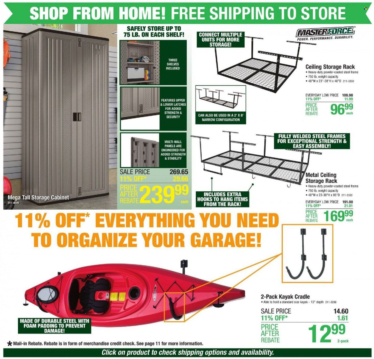 Menards Ad from october 9 to 16 2021 - Page 4