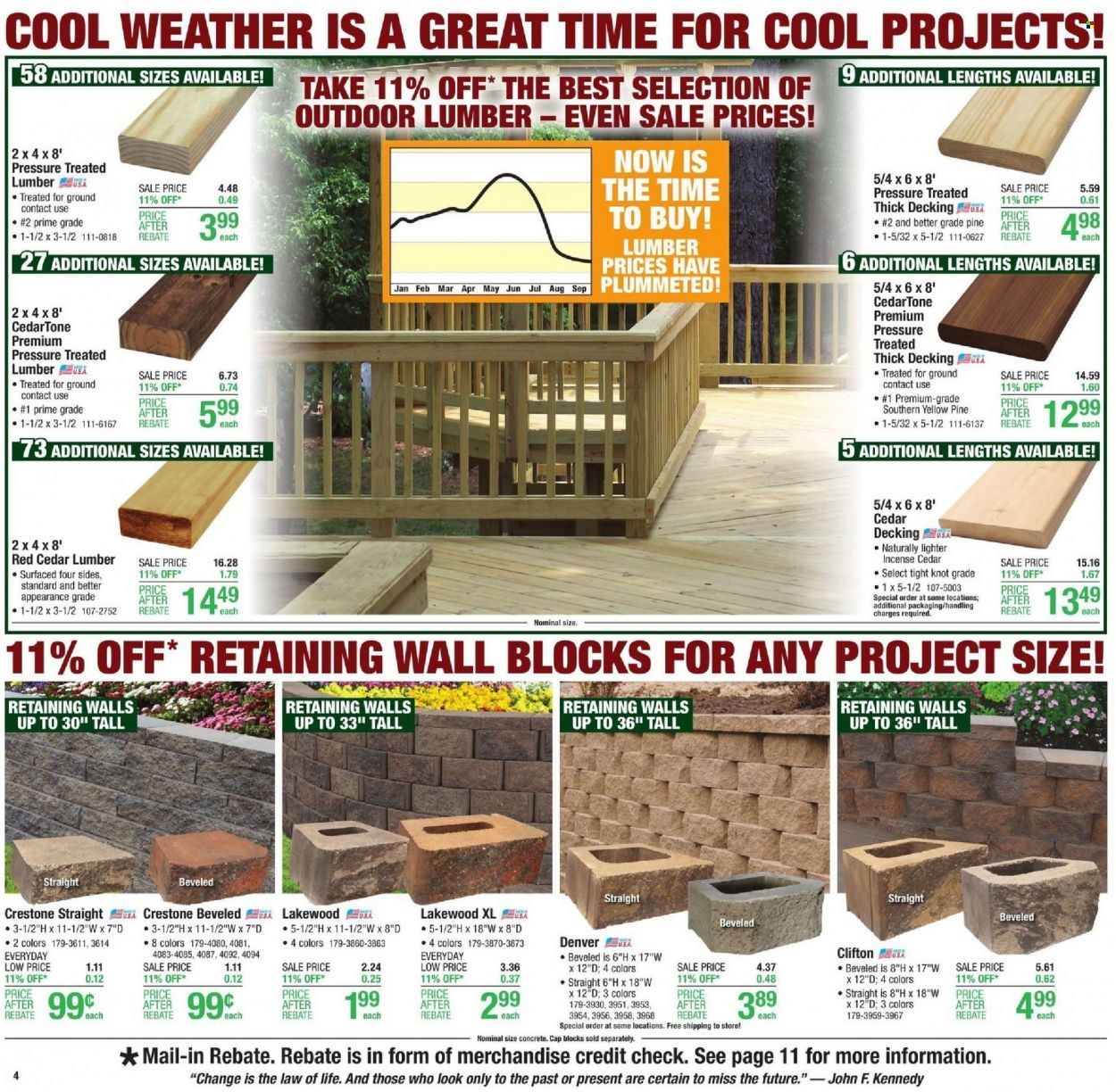 Menards Ad from october 9 to 16 2021 - Page 5