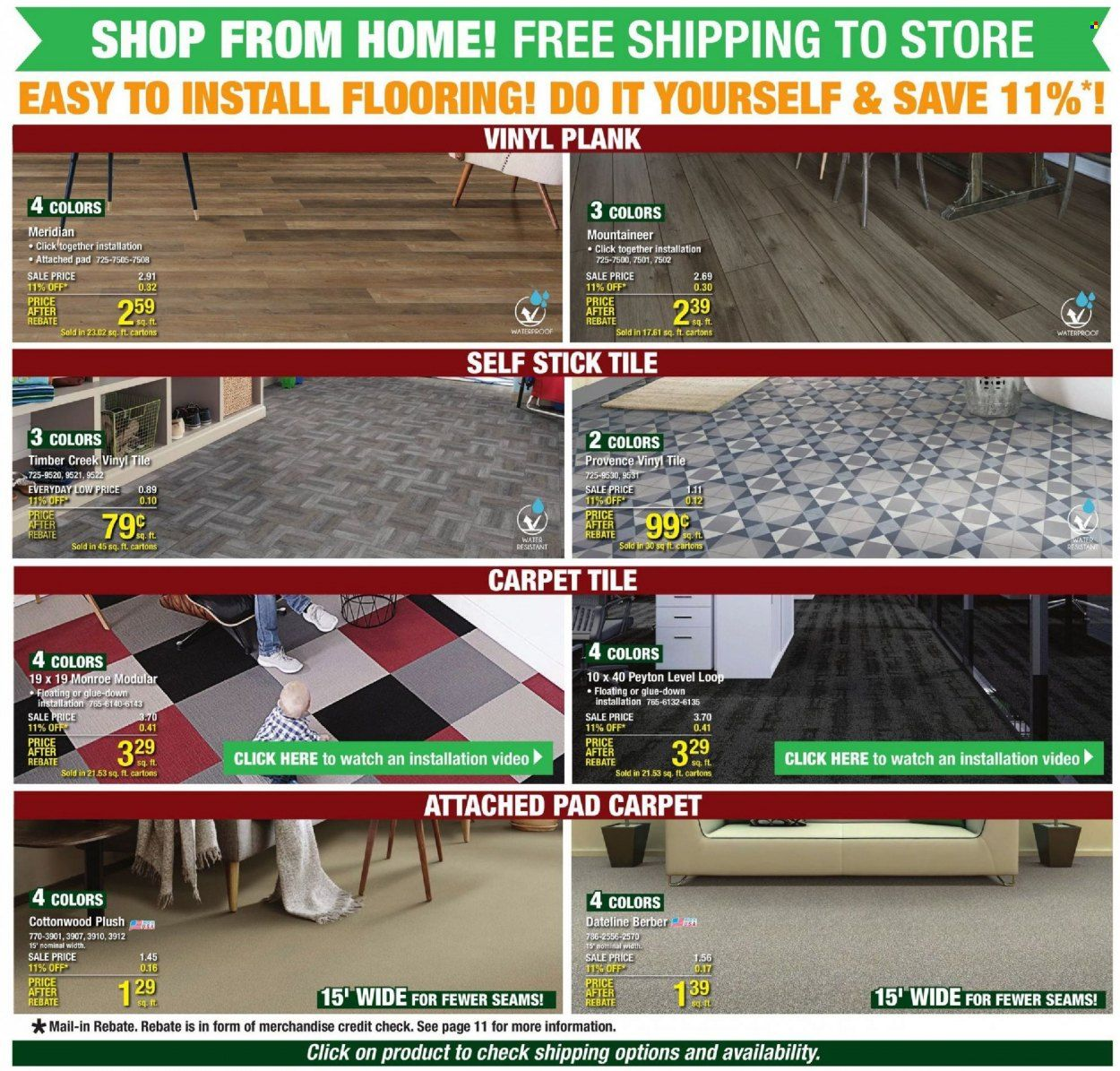 Menards Ad from october 9 to 16 2021 - Page 7