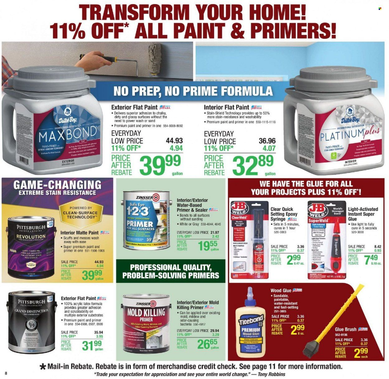Menards Ad from october 9 to 16 2021 - Page 11