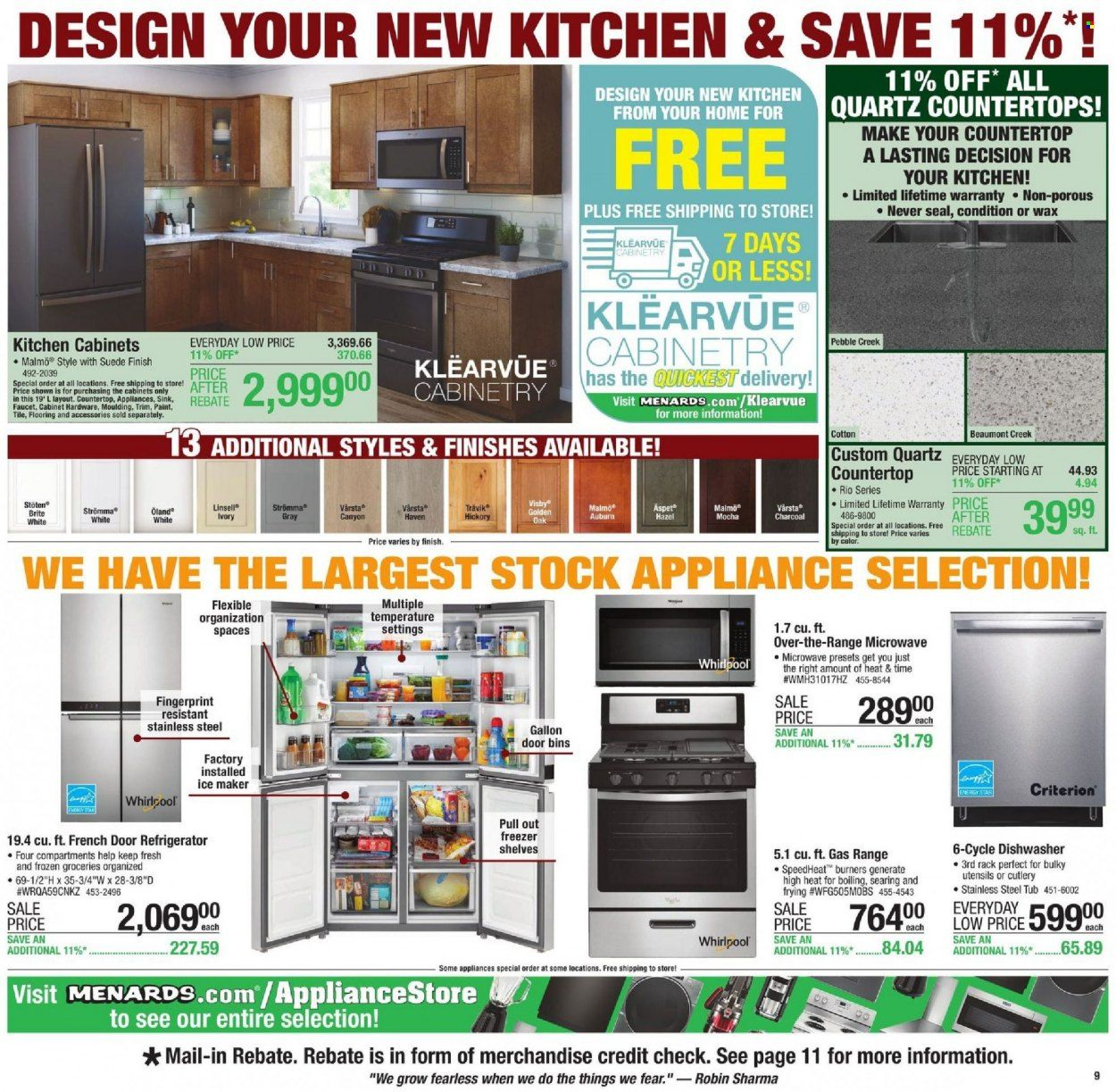 Menards Ad from october 9 to 16 2021 - Page 12