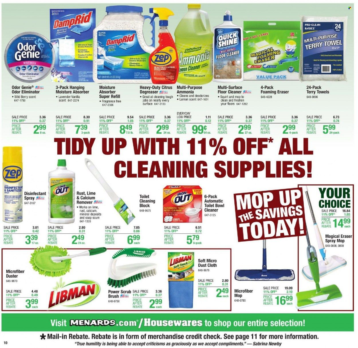 Menards Ad from october 9 to 16 2021 - Page 15