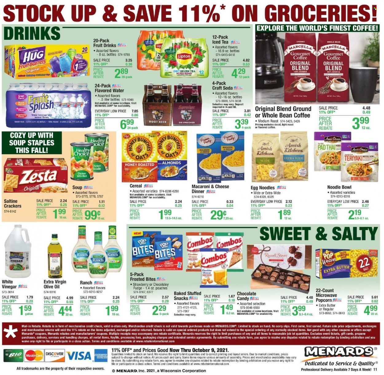 Menards Ad from october 9 to 16 2021 - Page 16