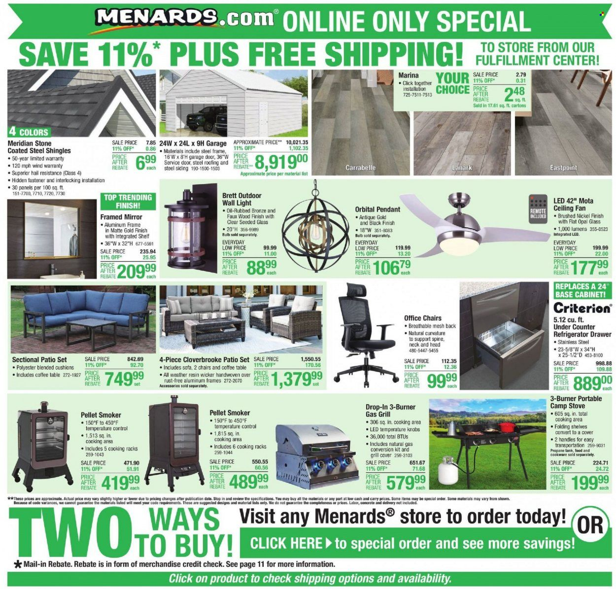 Menards Ad from october 9 to 16 2021 - Page 20