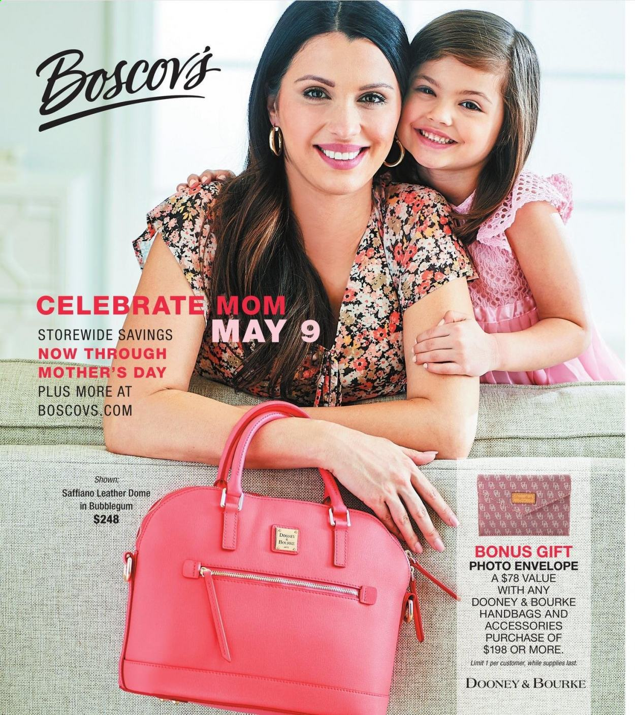 Boscov's Mother's Day 2021 Ad