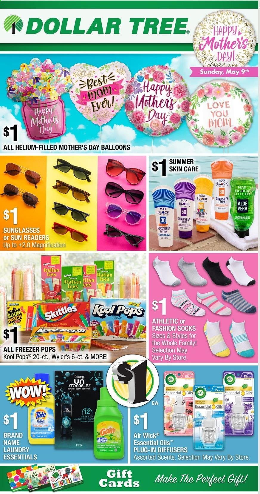 Dollar Tree Mother's Day Ad from april 25 to may 9 2021