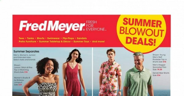 Fred Meyer - Summer Blowout Deals from june 23 to 29 2021