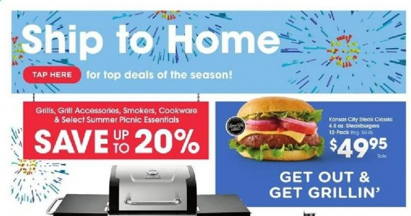 Fred Meyer Ship to Home Ad from june 23 to 29 2021