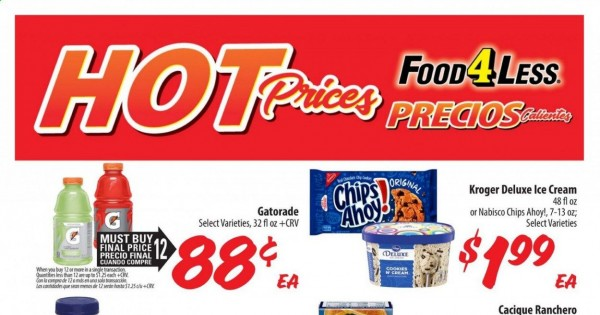 Food 4 Less Ad (IN) from june 23 to 29 2021