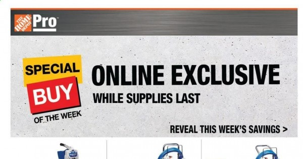 Home Depot Pro Ad from june 21 to 28 2021