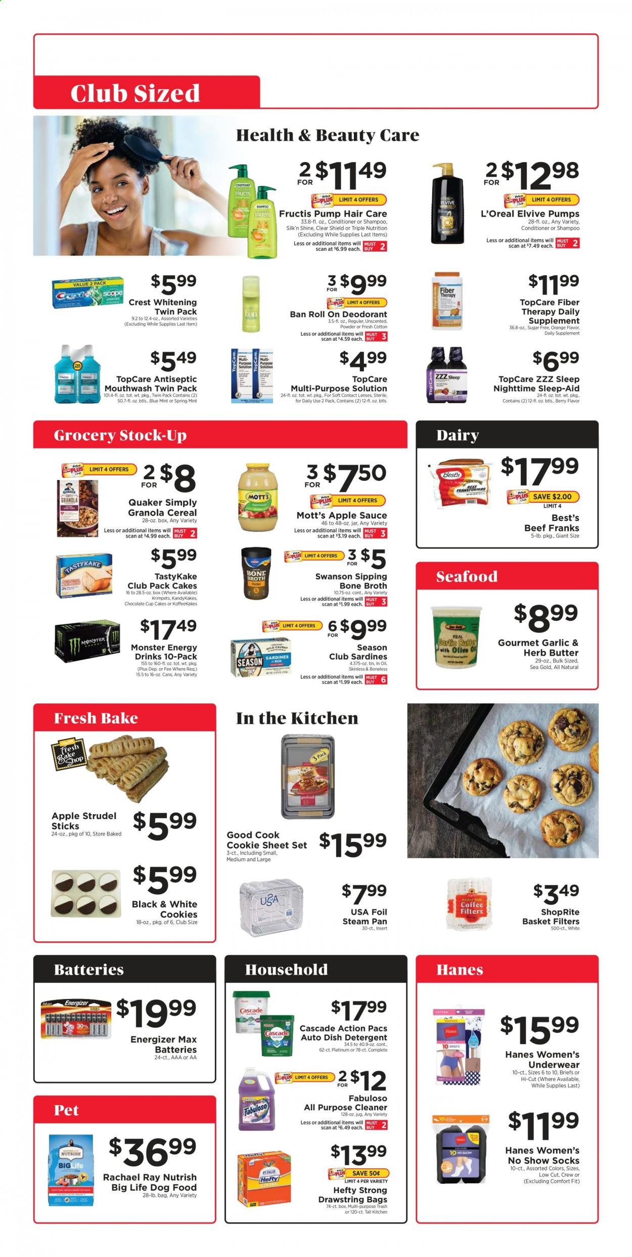 ShopRite Club Sized Ad from april 25 to may 22 2021