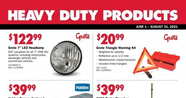 Carquest Auto Parts current Flyer online