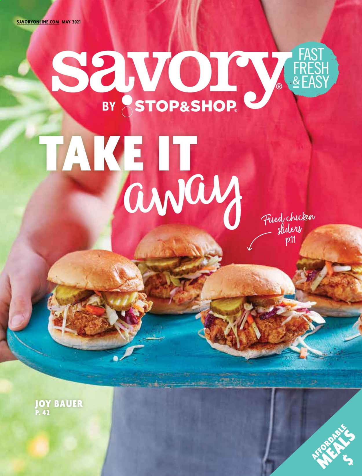 Stop&Shop Savory Magazine - May 2021