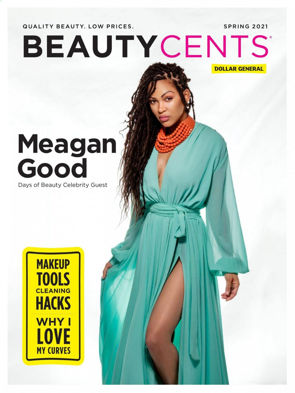 Dollar General Ad Spring 2021 Beauty Catalog