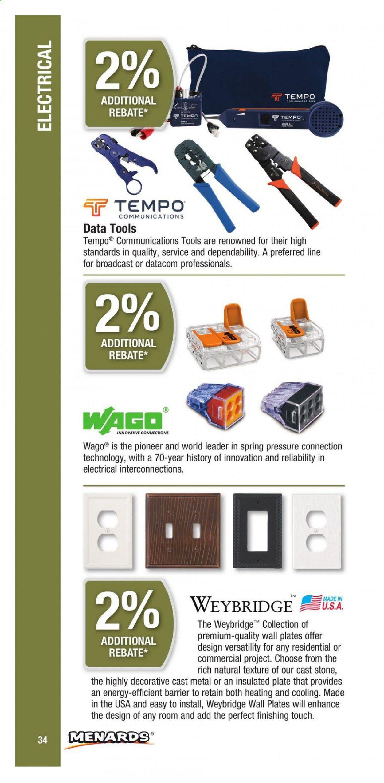 Menards Contractor Rebate Program 2021 - Page 34