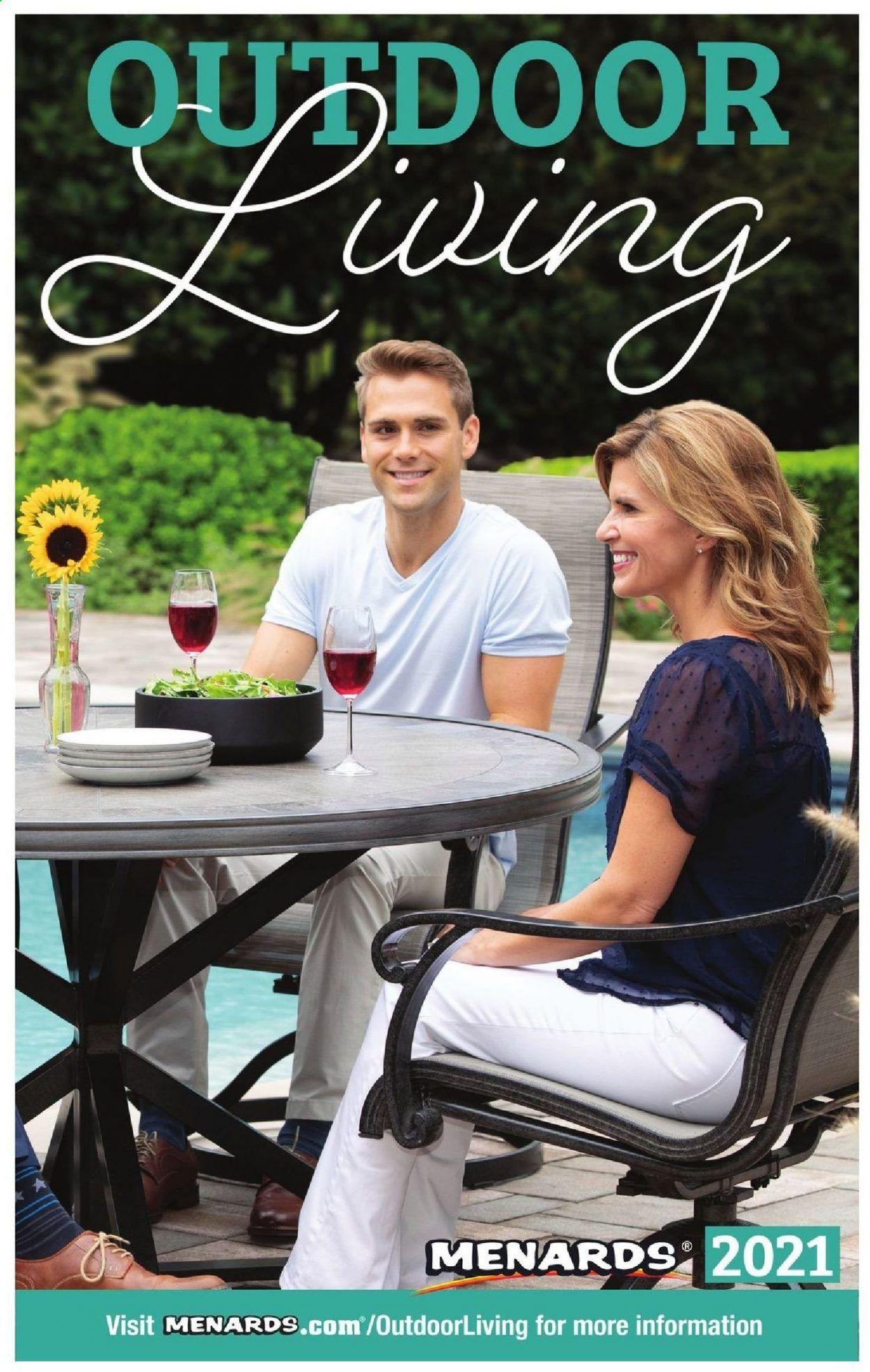 Menards Outdoor Living Catalog 2021 - Page 1