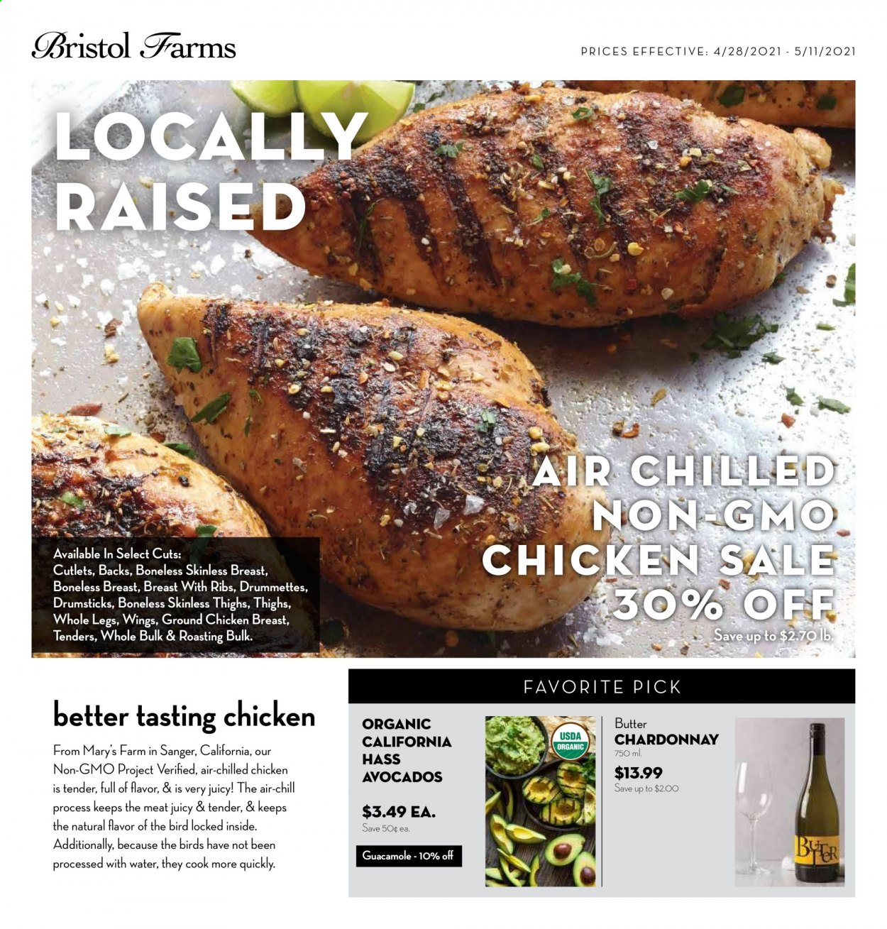 Bristol Farms Ad from april 28 to may 11 2021