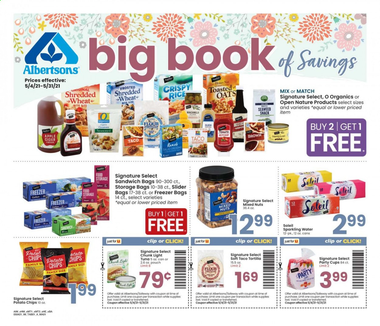 Albertsons Ad from may 4 to 31 2021