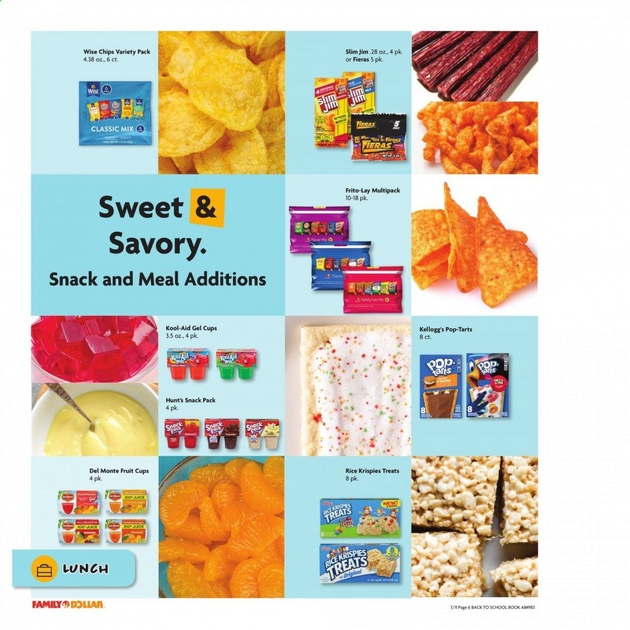 Family Dollar Back to School Ad from july 11 to august 14 2021 - Page 7