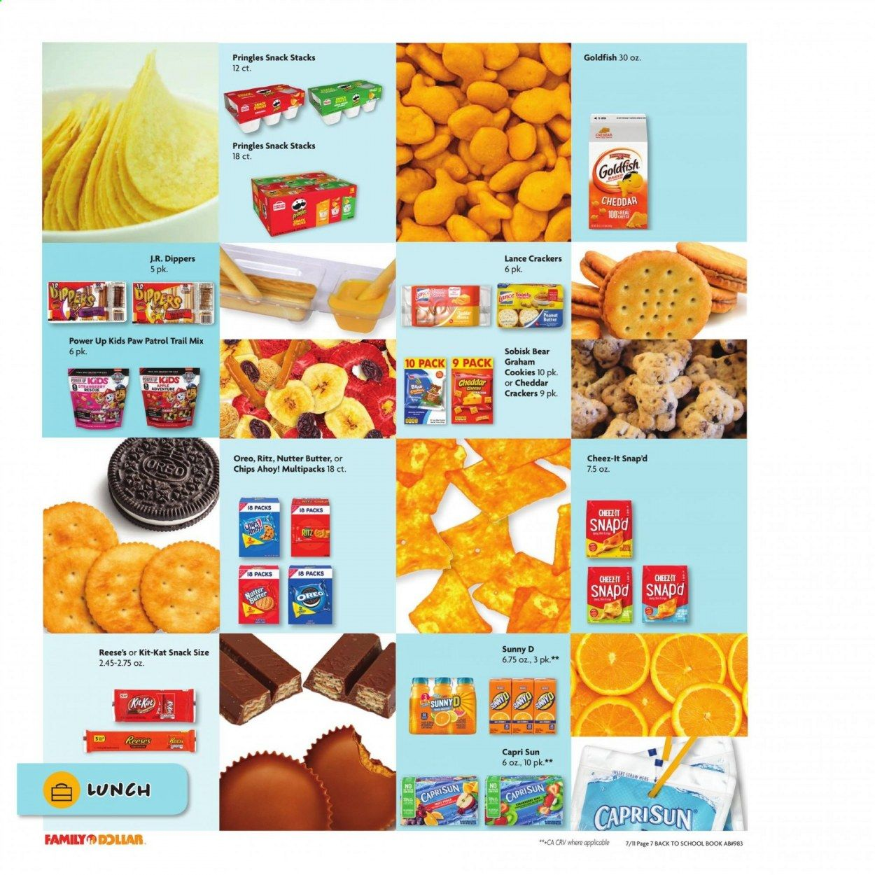 Family Dollar Back to School Ad from july 11 to august 14 2021 - Page 8