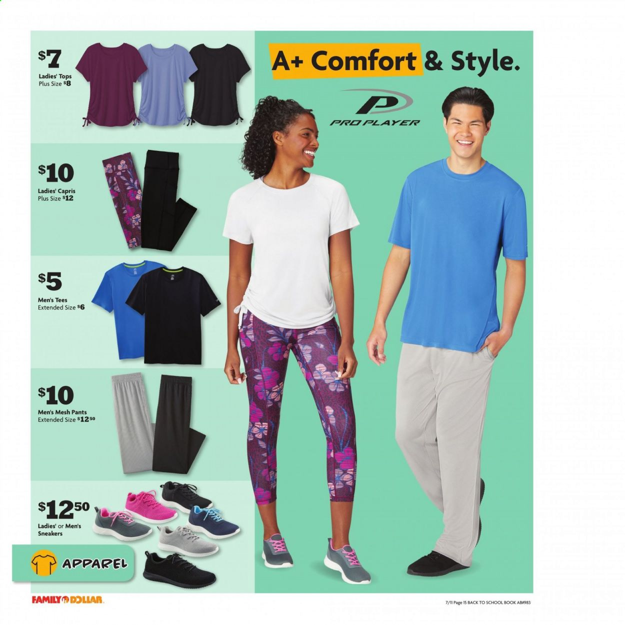 Family Dollar Back to School Ad from july 11 to august 14 2021 - Page 16