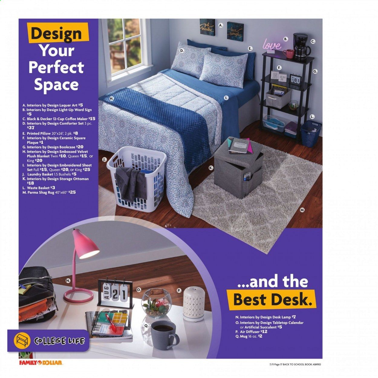 Family Dollar Back to School Ad from july 11 to august 14 2021 - Page 18