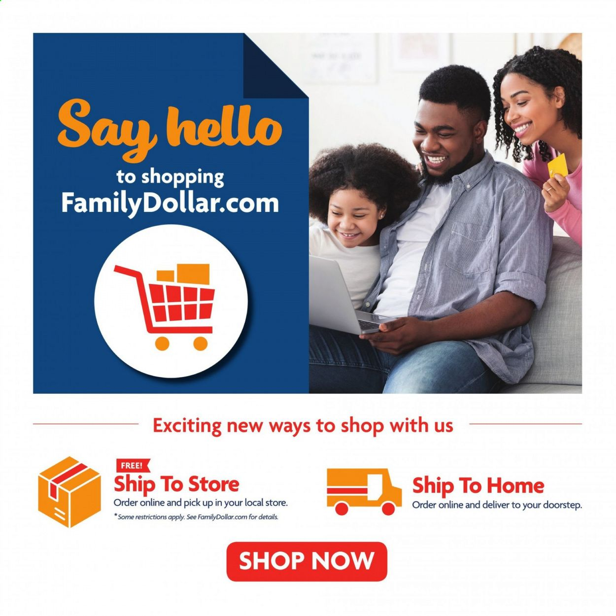 Family Dollar Back to School Ad from july 11 to august 14 2021 - Page 21