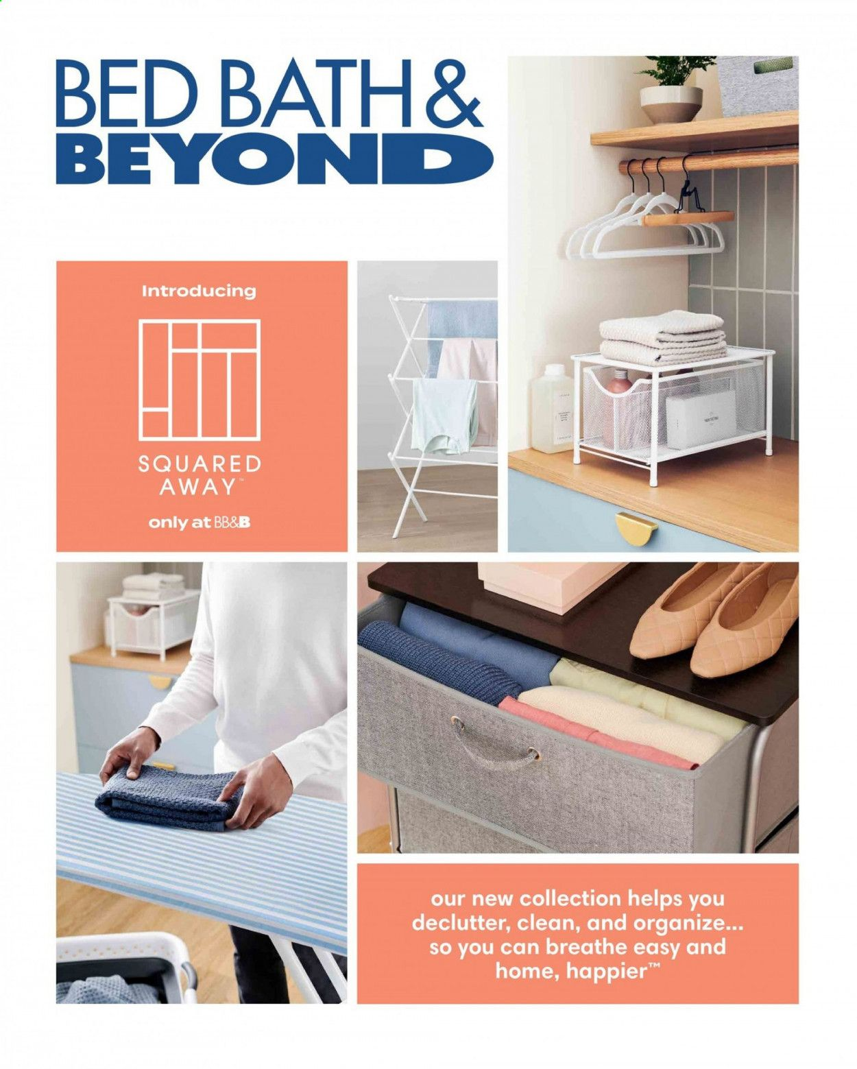 Bed Bath & Beyond Ad from july 12 to 25 2021 - Page 1