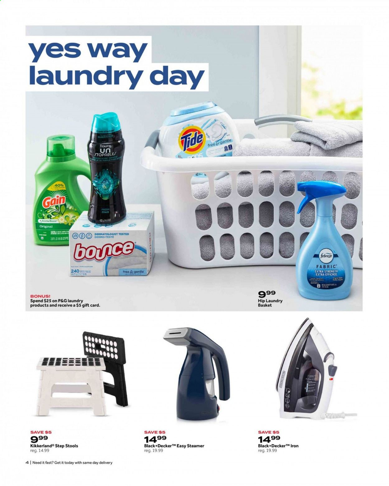 Bed Bath & Beyond Ad from july 12 to 25 2021 - Page 4