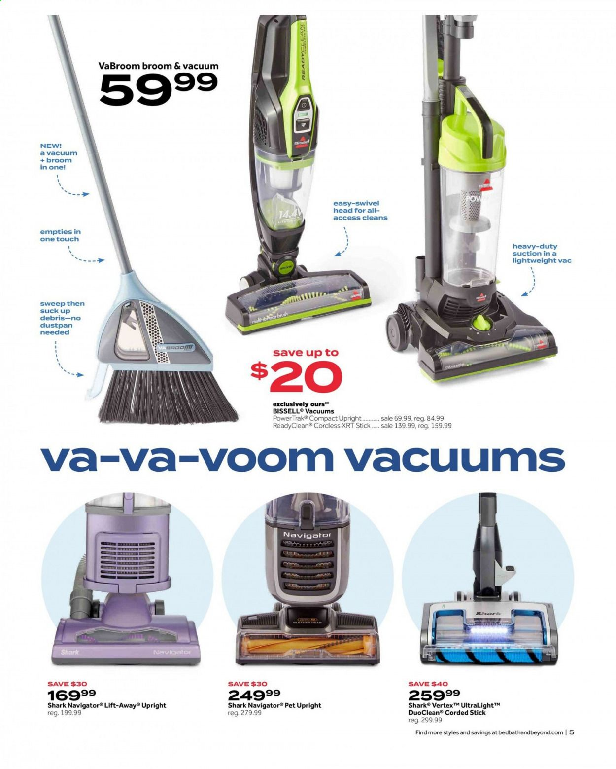 Bed Bath & Beyond Ad from july 12 to 25 2021 - Page 5