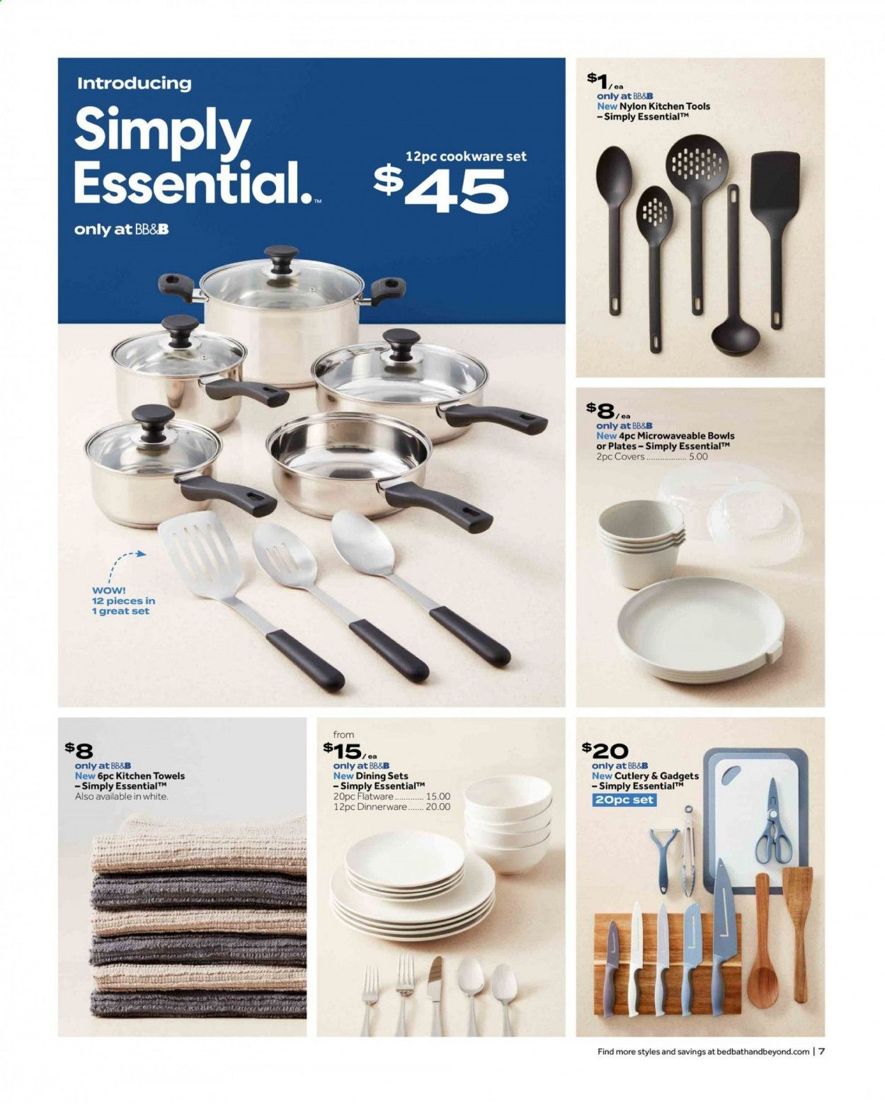 Bed Bath & Beyond Ad from july 12 to 25 2021 - Page 7