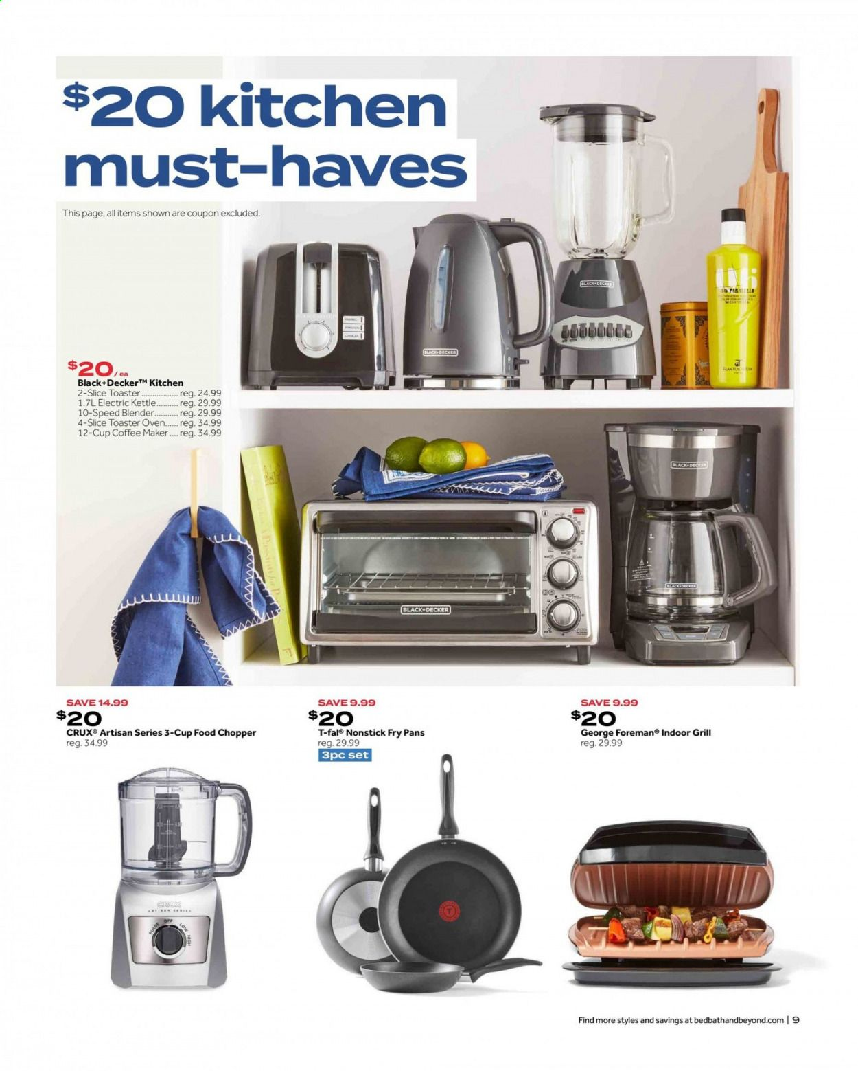 Bed Bath & Beyond Ad from july 12 to 25 2021 - Page 9