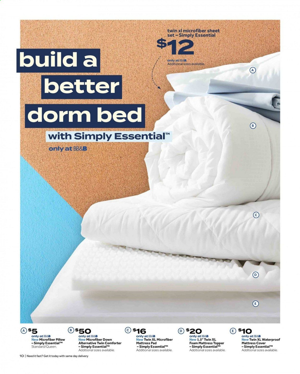 Bed Bath & Beyond Ad from july 12 to 25 2021 - Page 10
