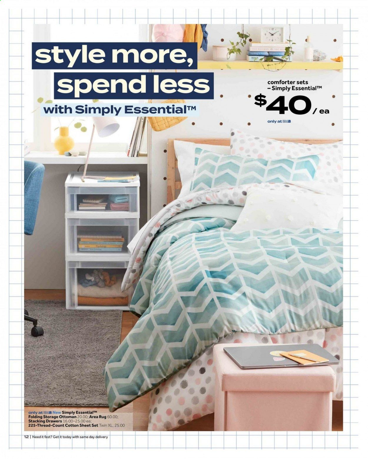 Bed Bath & Beyond Ad from july 12 to 25 2021 - Page 12