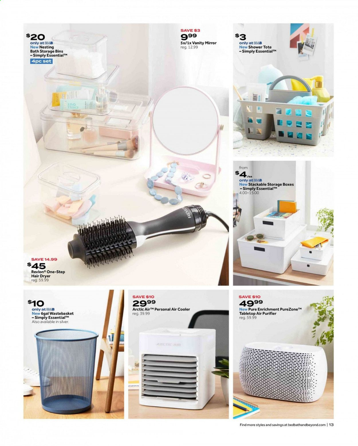 Bed Bath & Beyond Ad from july 12 to 25 2021 - Page 13