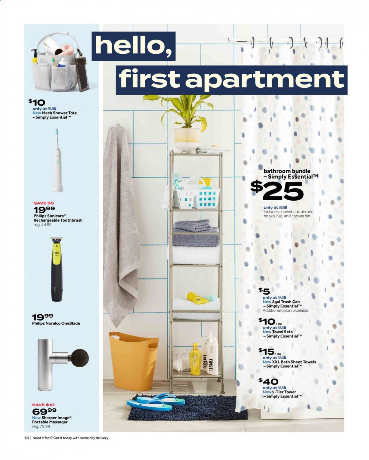 Bed Bath & Beyond Ad from july 12 to 25 2021 - Page 14