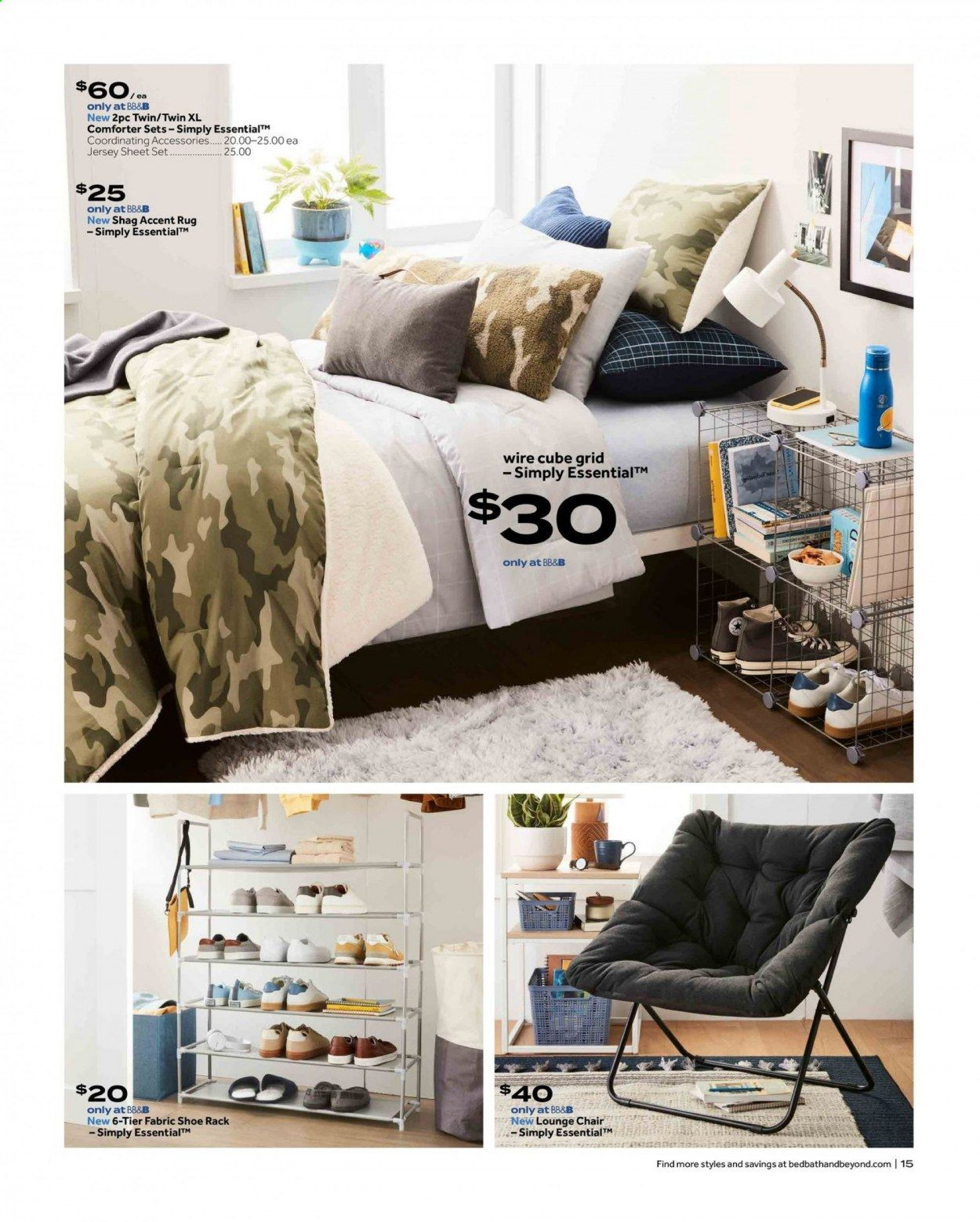 Bed Bath & Beyond Ad from july 12 to 25 2021 - Page 15