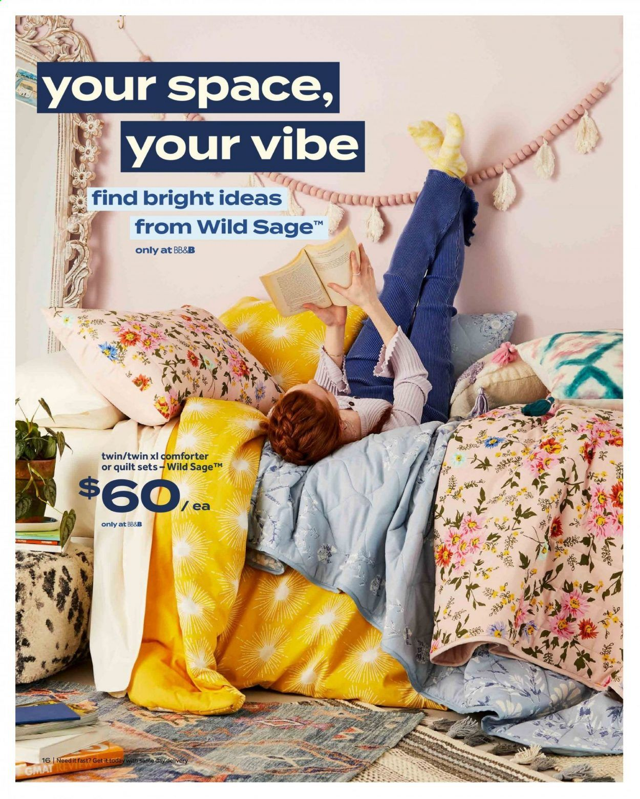 Bed Bath & Beyond Ad from july 12 to 25 2021 - Page 16