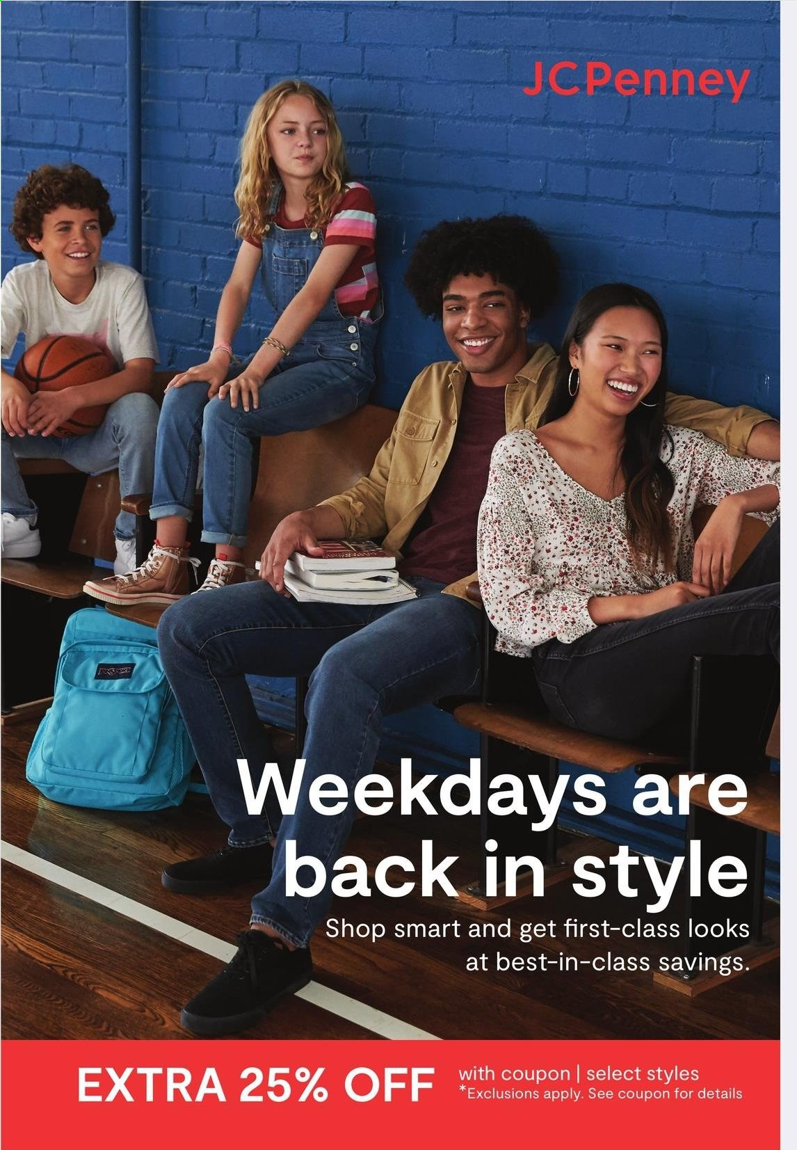JCPenney Ad from july 12 to august 22 2021 - Page 1